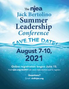 2021 NJEA Jack Bertolino Summer Leadership Conference