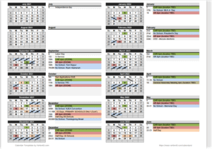 21-22 B-REA Calendar
