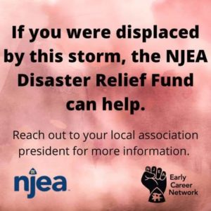 NJEA Disaster Relief Funds- Hurricane Ida (09/03/21)