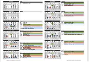 21-22 BREA Calendar